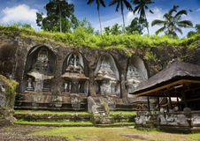 Tempio di Ganung Kawi Immagini Stock Libere da Diritti