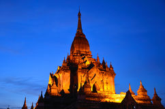 Tempio di Gawdawpalin fotografia stock libera da diritti