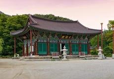 Tempio di Geumsansa Immagine Stock Libera da Diritti