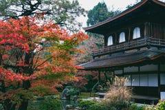Tempio di Ginkakuji fotografia stock libera da diritti