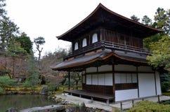 Tempio di Ginkakuji Immagine Stock