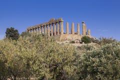 Tempio Di Giunone, Sicily - Fotografia Royalty Free