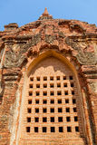 Tempio Bagan di Gubyaukgyi Fotografia Stock Libera da Diritti