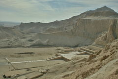 Tempio di Hapsepsut, Egitto fotografia stock