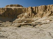 Tempio di Hatshepsut al EL-Bahri di Deir Fotografie Stock Libere da Diritti