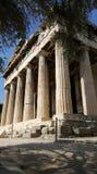Tempio di Hephaistos a Atene Immagine Stock