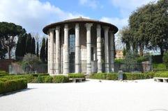 Tempio di Hercules Victor, Roma Fotografie Stock Libere da Diritti