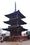 Tempio di Hida Kokubunji Fotografia Stock Libera da Diritti