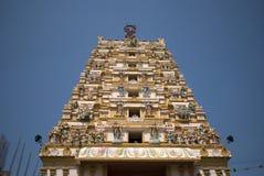 Tempio di hindi, Butterworth, Penang, Malesia fotografie stock libere da diritti