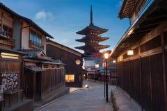 Tempio di Hokan-ji Fotografie Stock