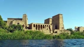 Tempio di ISIS della dea Fotografie Stock Libere da Diritti