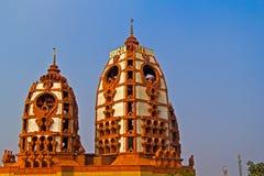 Tempio di ISKCON, Delhi fotografia stock libera da diritti