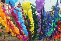 Tempio di Iskcon - Delhi, India Fotografia Stock