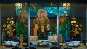Tempio di Isshinji a Osaka Fotografie Stock Libere da Diritti