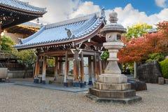 Tempio di Isshinji a Osaka Fotografia Stock Libera da Diritti