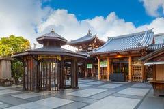 Tempio di Isshinji a Osaka Immagini Stock Libere da Diritti