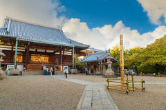 Tempio di Isshinji a Osaka, Giappone Immagini Stock