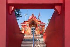 Tempio di Jakhoo, Shimla Immagine Stock