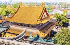 Tempio di Jinshan di Zhenjiang Fotografia Stock