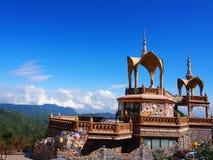 Tempio di Kaew del figlio di PA, Kao Kho, Petchaboon, Tailandia Fotografia Stock Libera da Diritti