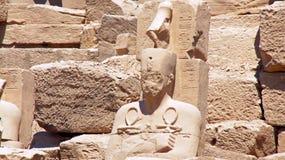 Tempio di karnak Immagini Stock