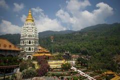 Tempio di Kek Lok Si, Penang, Malesia Fotografie Stock Libere da Diritti