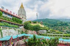 Tempio di Kek Lok Si un tempio buddista situato in aria Itam a Penang Immagine Stock