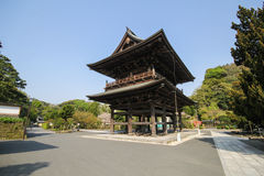 Tempio di Kenchoji, Kamakura, Giappone Immagini Stock Libere da Diritti