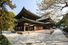 Tempio di Kenchoji, Kamakura, Giappone Immagine Stock Libera da Diritti