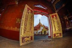 Tempio di Kengtung di buddismo Immagini Stock Libere da Diritti