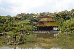Tempio di Kinkaku-ji Immagine Stock
