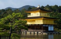 Tempio di Kinkaku-ji, Kyoto, Giappone Fotografia Stock