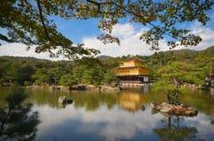 Tempio di Kinkakuji Immagini Stock Libere da Diritti