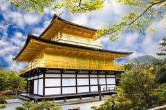 Tempio di Kinkakuji Fotografie Stock