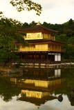 Tempio di Kinkakuji a Kyoto, Giappone Fotografie Stock Libere da Diritti
