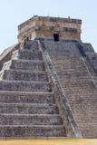 Tempio di Kukulkan a Chichen Itza Fotografia Stock