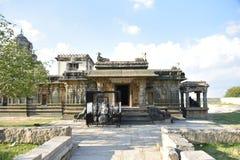 Tempio di Kurudumale Ganesha, Mulbagal, il Karnataka, India fotografia stock libera da diritti