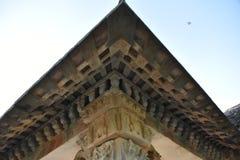 Tempio di Kurudumale Ganesha, Mulbagal, il Karnataka, India immagine stock