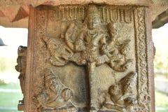 Tempio di Kurudumale Ganesha, Mulbagal, il Karnataka, India immagini stock libere da diritti