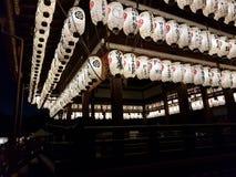 Tempio di Kyoto, Giappone immagini stock libere da diritti
