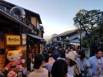 Tempio di Kyoto, Giappone fotografie stock libere da diritti