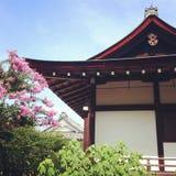 Tempio di Kyoto, Giappone Fotografia Stock