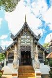 Tempio di legno Fotografie Stock