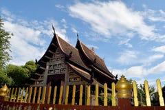 Tempio di Lokmolee o chiangmai di lokmolee del wat, Tailandia fotografie stock