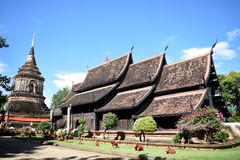 Tempio di Lokmolee o chiangmai di lokmolee del wat, Tailandia immagine stock libera da diritti