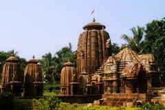 Tempio di Lord Mukteshwara nell'Orissa Immagine Stock