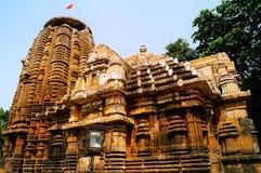 Tempio di Lord Mukteshwara nell'Orissa Fotografie Stock