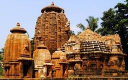 Tempio di Lord Mukteshwara nell'Orissa Fotografia Stock