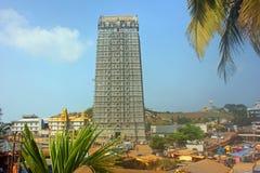 Tempio di Lord Shiva At Murudeshwar, il Karnataka, India Fotografie Stock Libere da Diritti