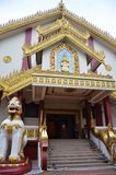 Tempio di Maha Sasana Ramsi Burmese Buddhist Fotografie Stock
